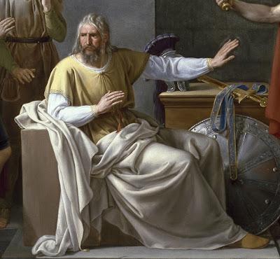 Ribera, Wamba renunciando a la corona