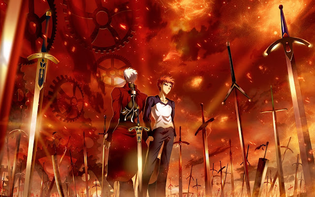 Fate/stay night: Unlimited Blade Works TV (12/12) + Especial (250MB) (HDL) (Sub Español) (Mega)