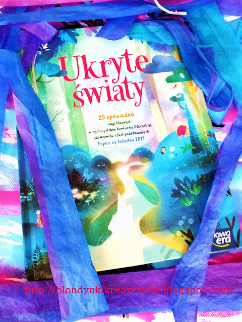 """""""Ukryte światy""""- magiczna książka stworzona przez dzieci."""