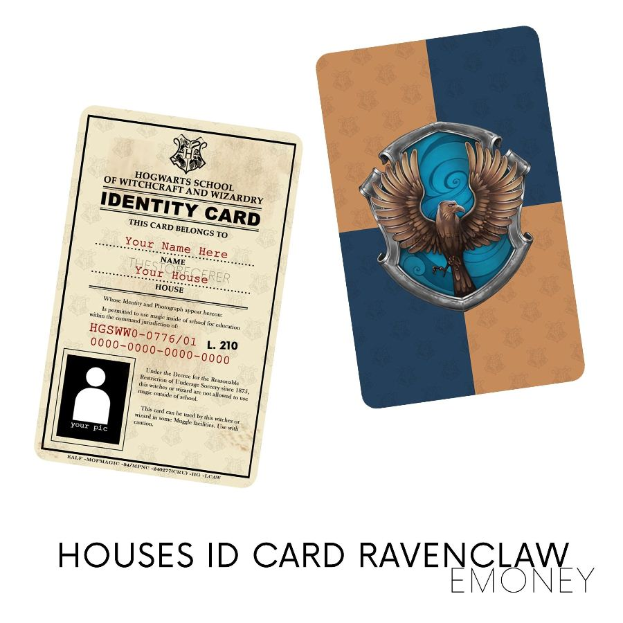 E-Money Ravenclaw ID Card