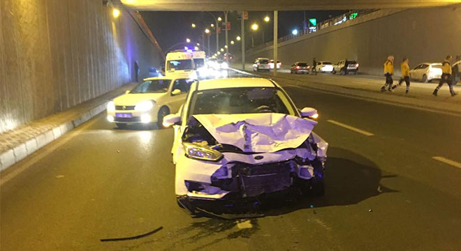 Diyarbakır Kantar'da kaza: 2 yaralı
