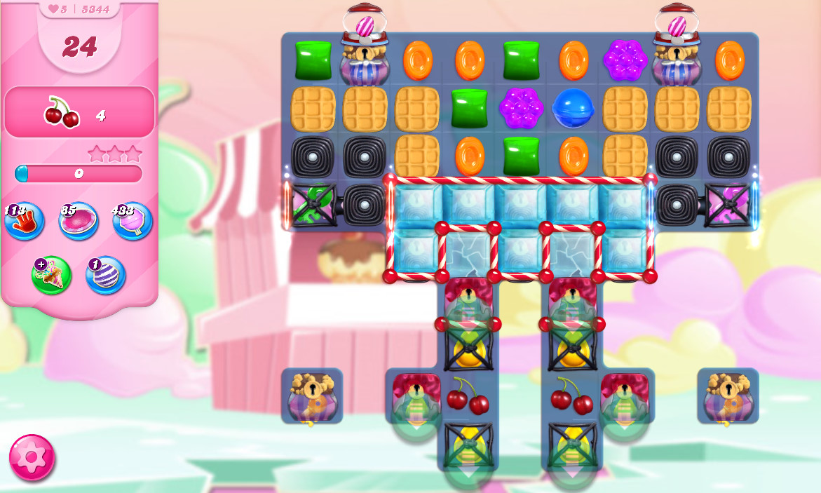 Candy Crush Saga level 5344