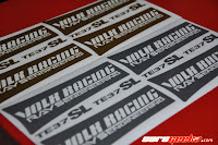 Volk Racing Rays Engineering TE37SL gold decals