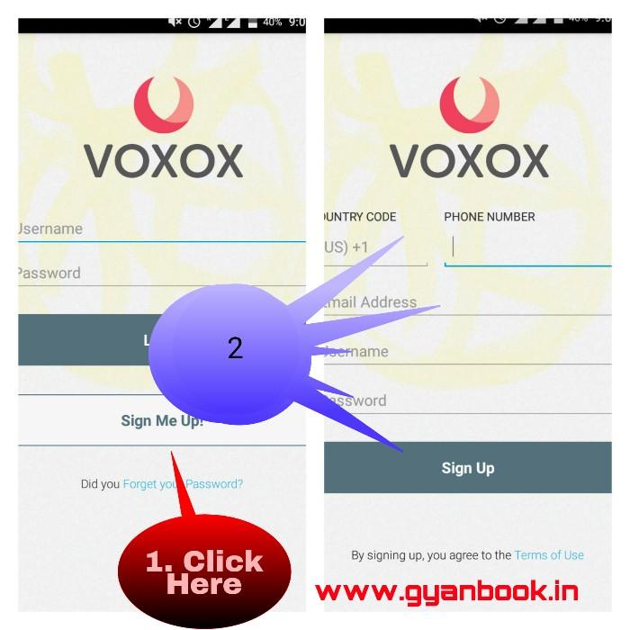 Voxvox free call