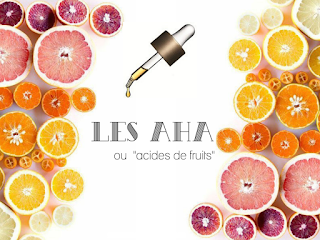 Les A.H.A Alpha Hydroxy Acide Acides de fruits