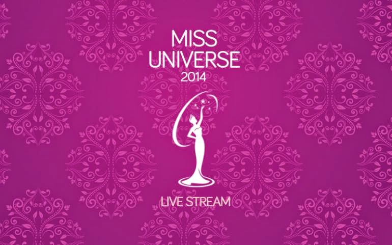 63rd Miss Universe 2014 livestream, telecast on ABS-CBN