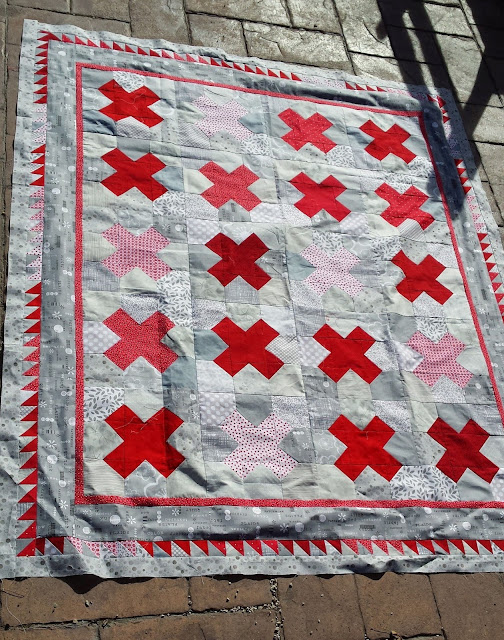 naught and crosses quilt pattern
