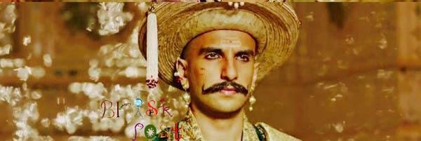 Ranveer Singh as Peshwa Bajirao in Deewani Mastani song