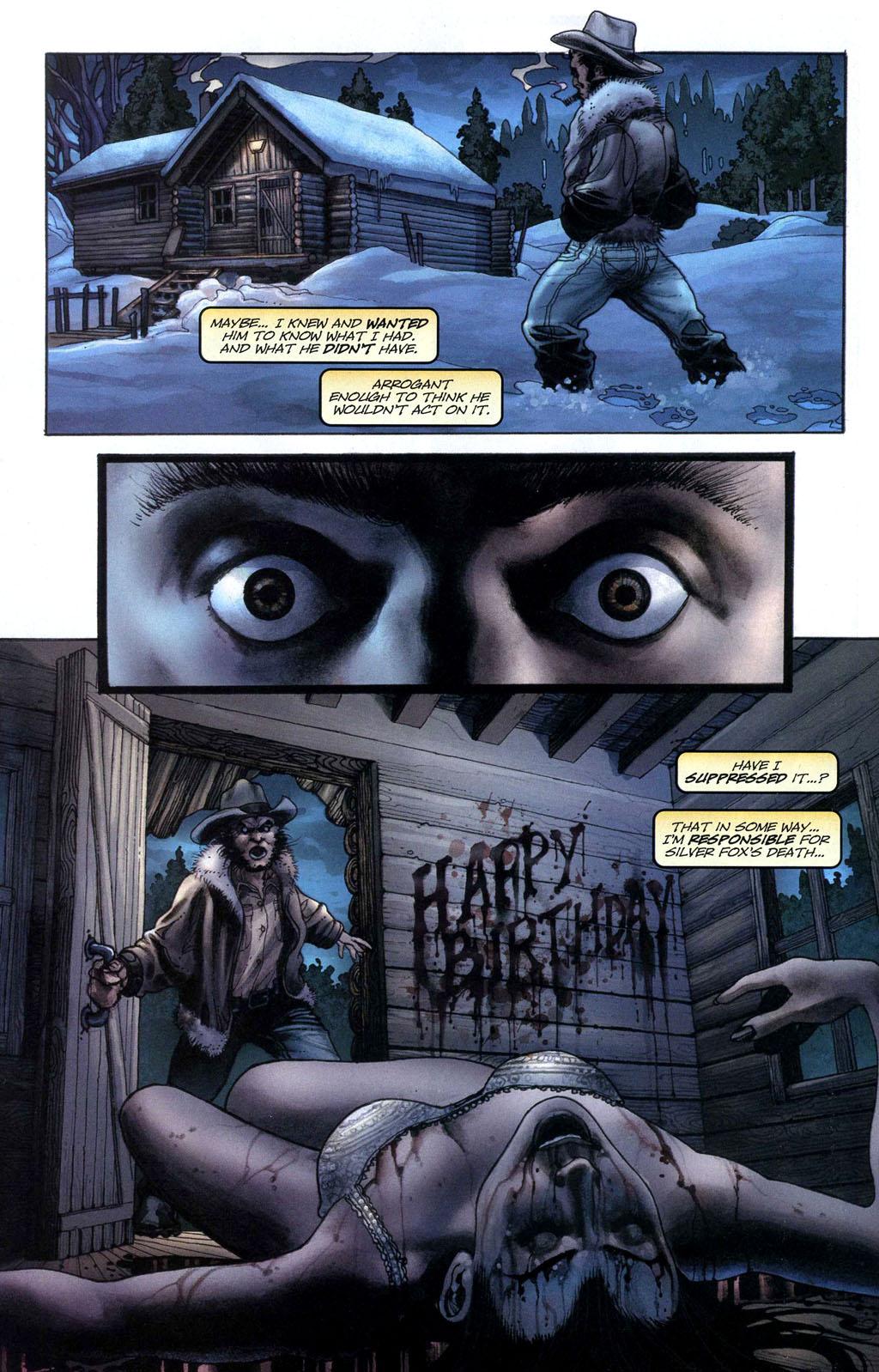 Read online Wolverine (2003) comic -  Issue #50 - 16
