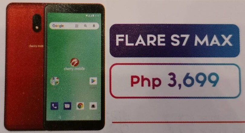 Cherry Mobile Flare S7 Max Unveiled for Php3,699