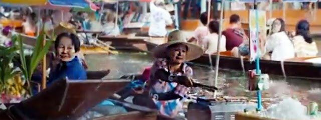 river kwai floating market