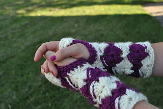 Almost Bavarian Fingerless Gloves by Little Luvies Shop