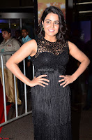 Wamiqa Gabbi in a sleeveless Black Designer Transparent Gown at 64th Jio Filmfare Awards South ~  Exclusive 024.JPG