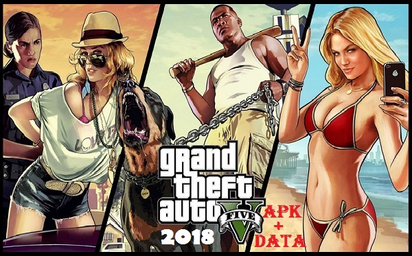 Download GTA 5 Mod Apk 4K HD 2018