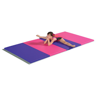 Greatmats gymnastics mats pink and purple