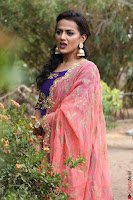 Actress Shraddha Srinath in Purple Chania Choli Cute Pics ~  Exclusive 32.jpg