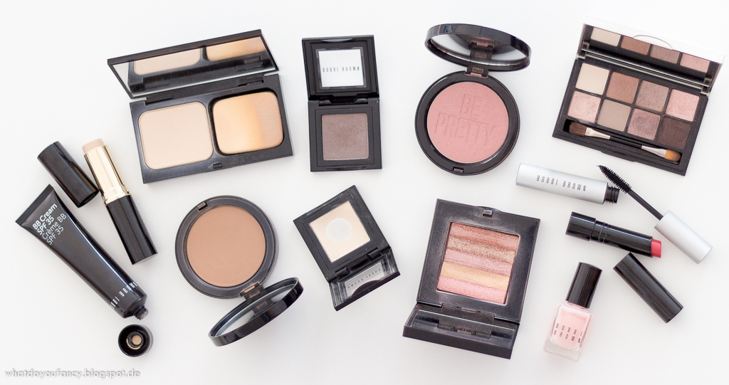 Blogparade: Mein Make-Up mit Bobbi Brown-Produkten