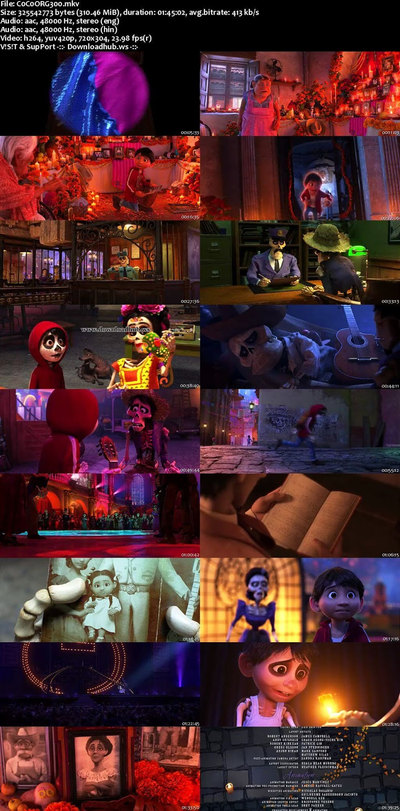 Coco 2017 Hindi Dual Audio 480p BluRay Free Download