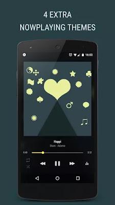 برنامج مشغل الموسيقى للأندرويد BlackPlayer EX 20.42 Patched Apk for Android