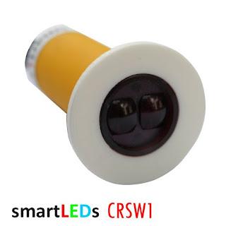 Schodowy czujnik ruchu CRSW1 smartLEDs, kolor biały