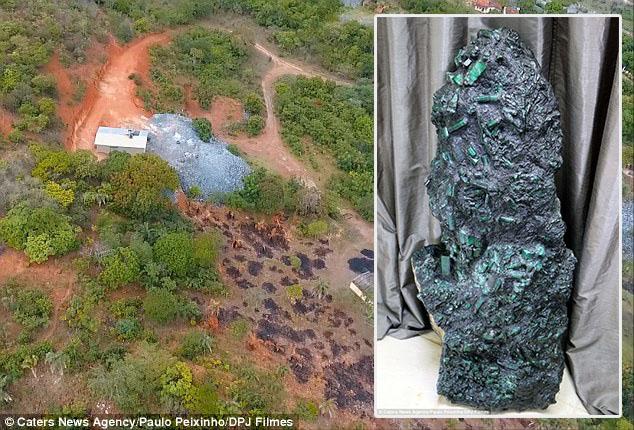 Pelombong jumpa batu zamrud seberat 350kg bernilai RM1.2 bilion kini hidup tak tenteram