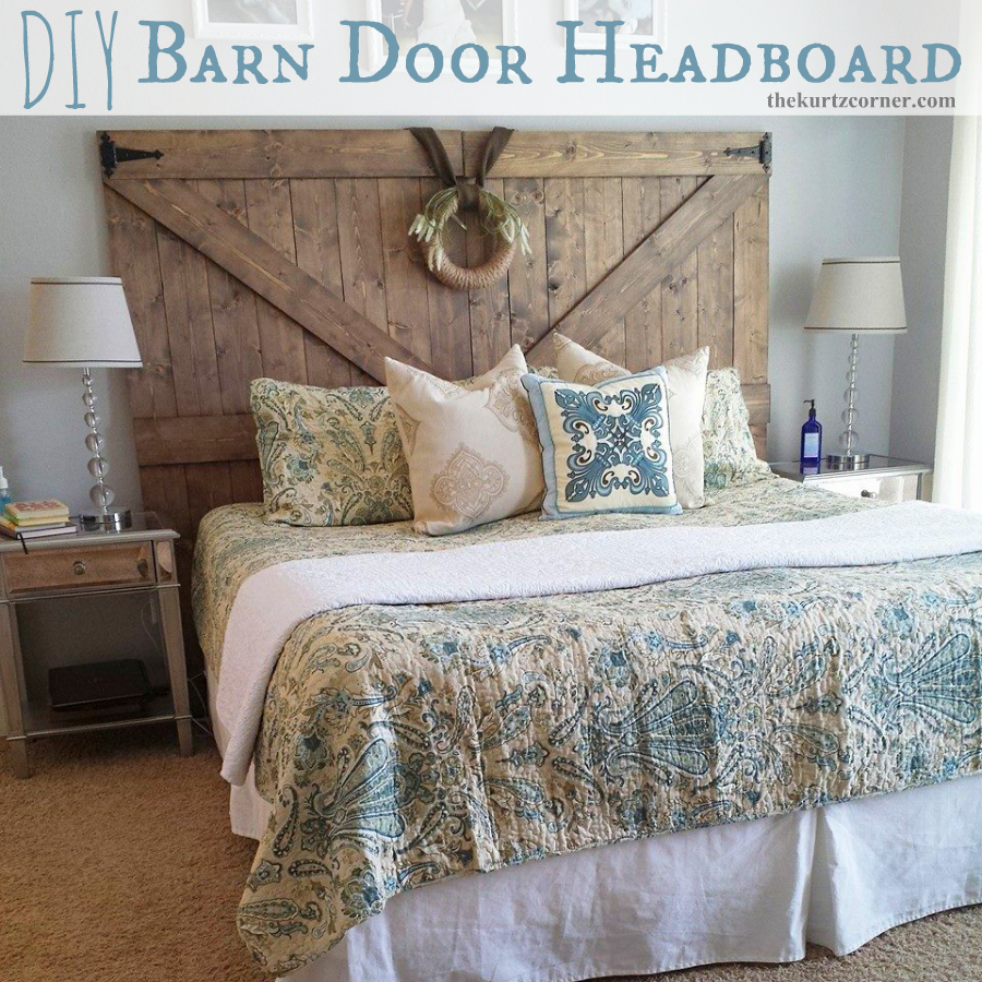 Diy Barn Door Headboard The Master Bedroom It S Supposed To Be An Oasis For You And Your Spouse Right Well Mine Never Fully Felt Like A Getaway