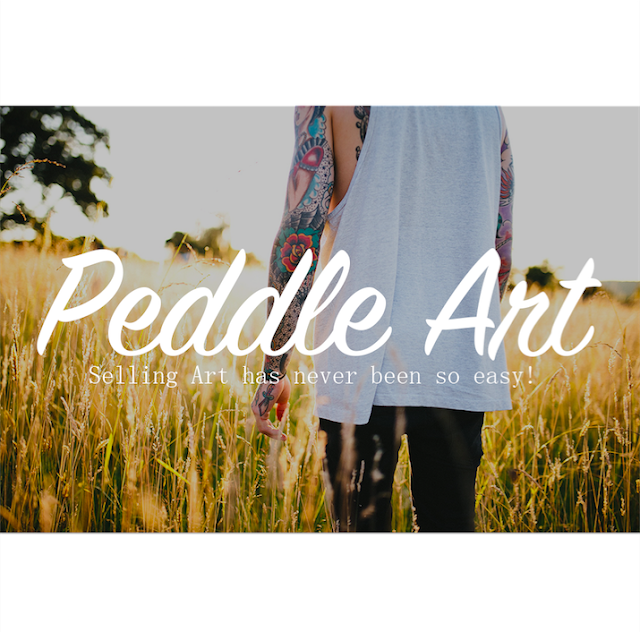 peddle art how to sell art online