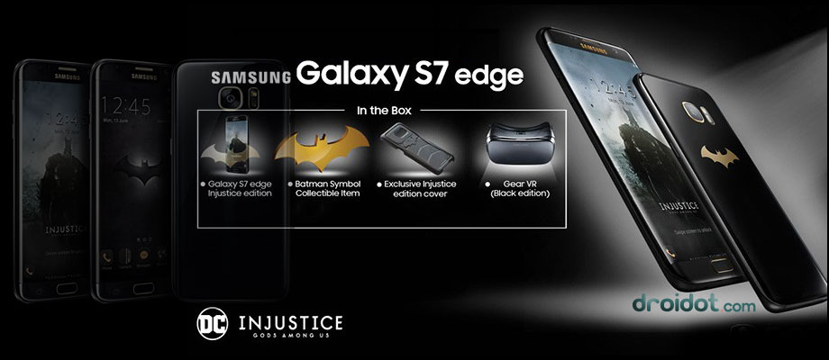 Samsung Galaxy S7 Edge Edisi Batman