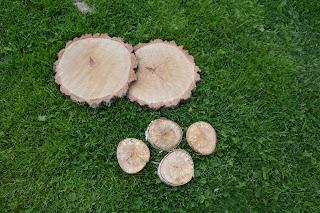 Drewniane podkładki na stół