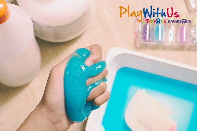 Coffret de slime pour enfant