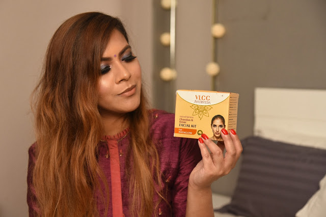 Get A Glow, Easy Way to get Glowing Skin, VLCC Ayurvedic Chandan & Kesar Facial Kit, how to get instant glow, DIY facial, at home facial, instant glow, diwali glam look, VLCC facial kit, indian beauty, beauty , fashion,beauty and fashion,beauty blog, fashion blog , indian beauty blog,indian fashion blog, beauty and fashion blog, indian beauty and fashion blog, indian bloggers, indian beauty bloggers, indian fashion bloggers,indian bloggers online, top 10 indian bloggers, top indian bloggers,top 10 fashion bloggers, indian bloggers on blogspot,home remedies, how to