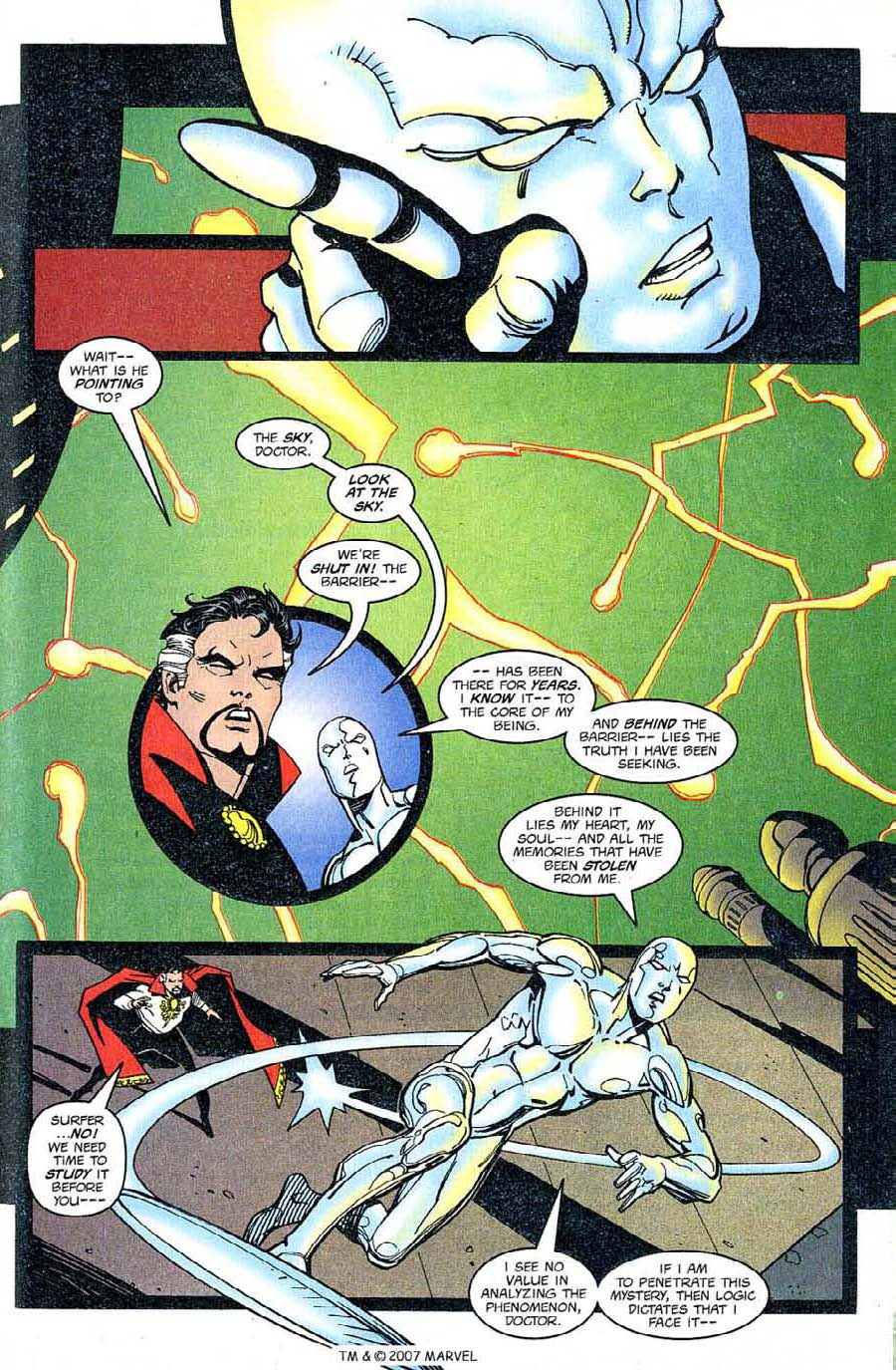 Read online Silver Surfer (1987) comic -  Issue #126 - 25