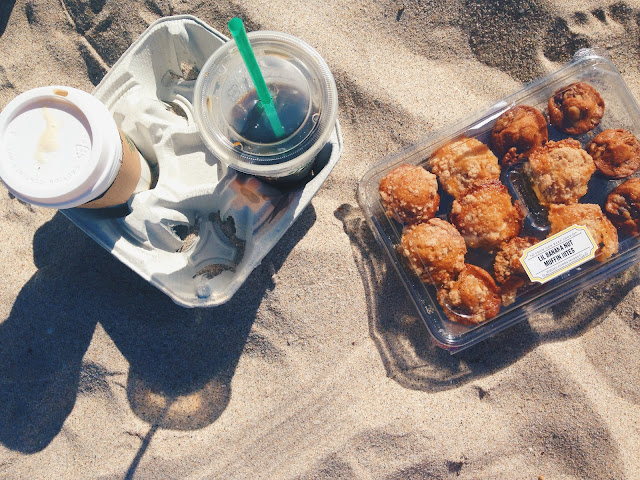 Starbucks Breakfast on The Beach // Live The Prep Life