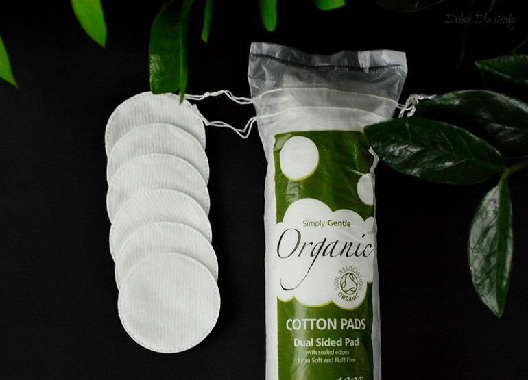 Simply Gentle Organic - organiczne waciki w płatkach