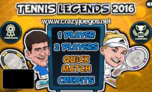 Jugar Tennis Legends 2016