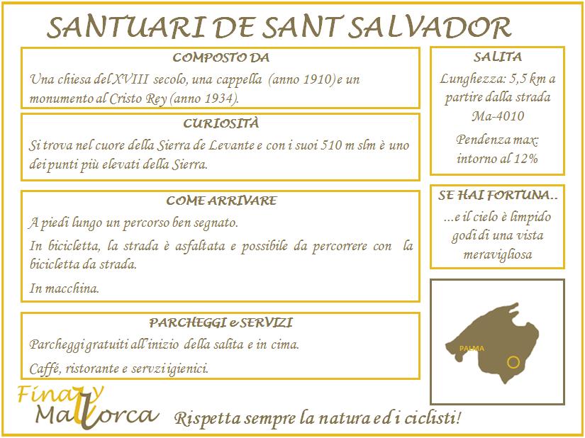Scheda informativa Santuari de Sant Salvador