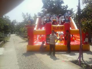 aneka tema balon loncat produksi wahanaballoons