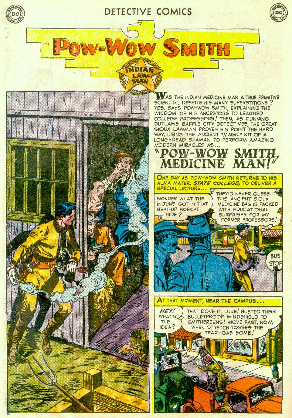Read online Detective Comics (1937) comic -  Issue #181 - 34