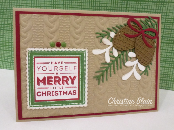 i have listed below all the current stampin up products used to make this card if youd like to buy them for yourself just click on one of the thumbnail - Current Christmas Cards