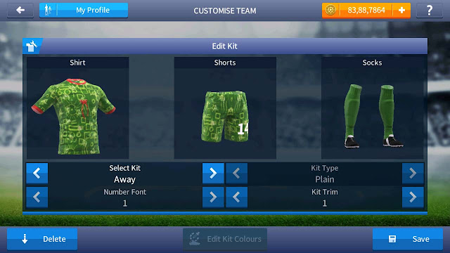 baju daster dream league soccer