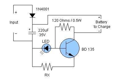 Electronics Circuit Application: NiCd & NiMH Battery