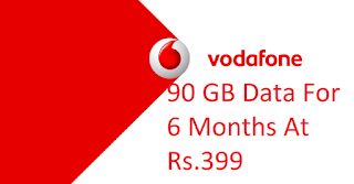 Vodafone 6 Month Unlimited Internet Plan 399