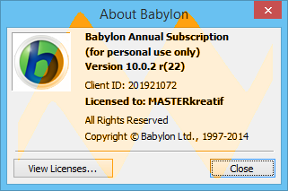 Babylon 10.0.2 Final Full Crack