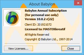 Babylon 10.0.2 Final Full Crack