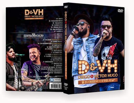 CAPA DVD – Diego & Victor Hugo Querosene E Violão Ao Vivo DVD-R