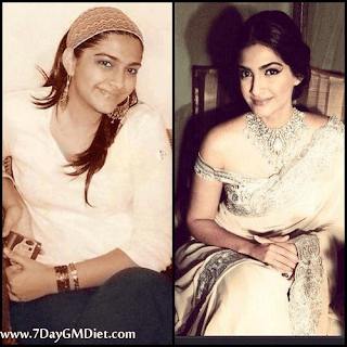Sonam Kapoor Before & After Weight Loss Photos