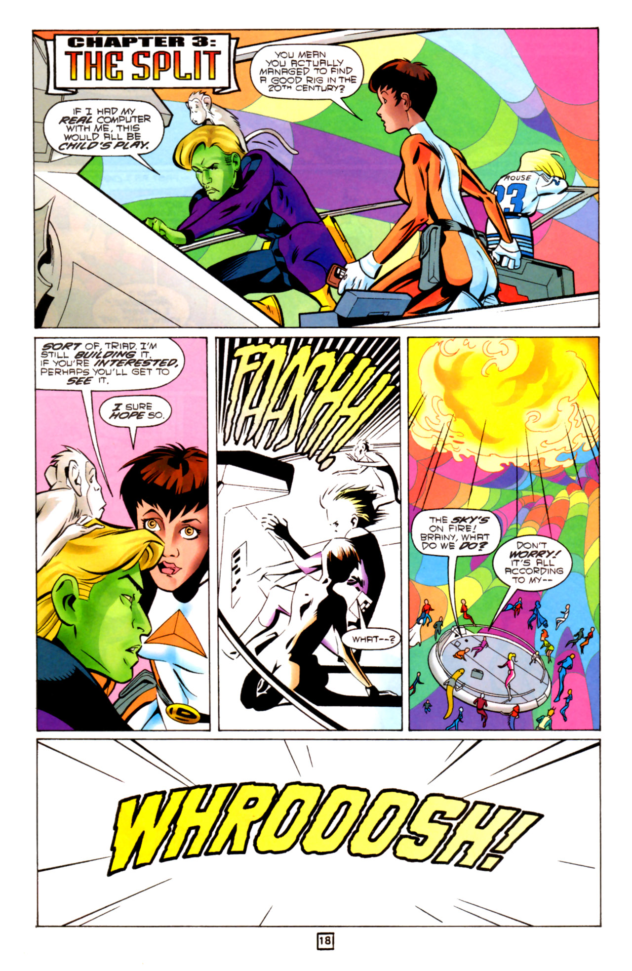 Legion of Super-Heroes (1989) 91 Page 17