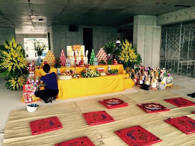 Lễ cất nóc Five Star Kim Giang