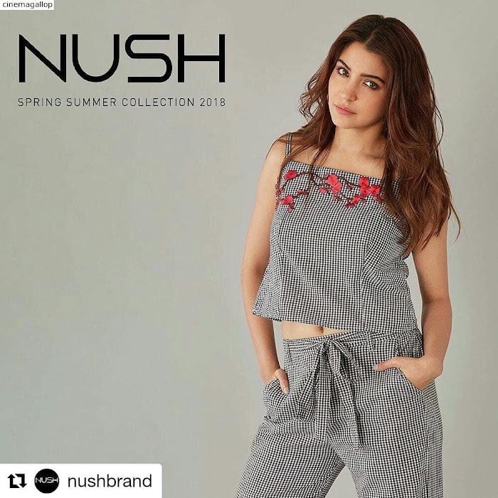 Anushka Sharma's NUSH Autumn Winter Collection Photoshoot