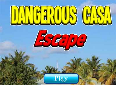 Juegos de Escape - Dangerous Casa Escape